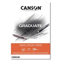 Canson - Canson Graduate Sketching Çizim Defteri 96g 40 Yaprak (1)
