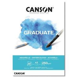 Canson - Canson Graduate Watercolour Sulu Boya Blok 250g 20 Yaprak (1)