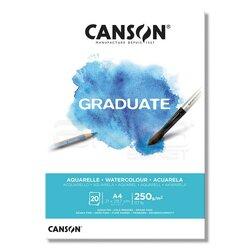 Canson Graduate Watercolour Sulu Boya Blok 250g 20 Yaprak - Thumbnail