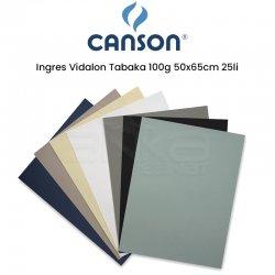 Canson - Canson Ingres Vidalon Tabaka 100g 50x65cm 25li