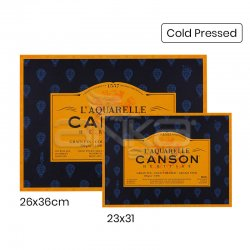 Canson LAquarelle Heritage Sulu Boya Blok 300g 12 Yaprak Cold Pressed - Thumbnail
