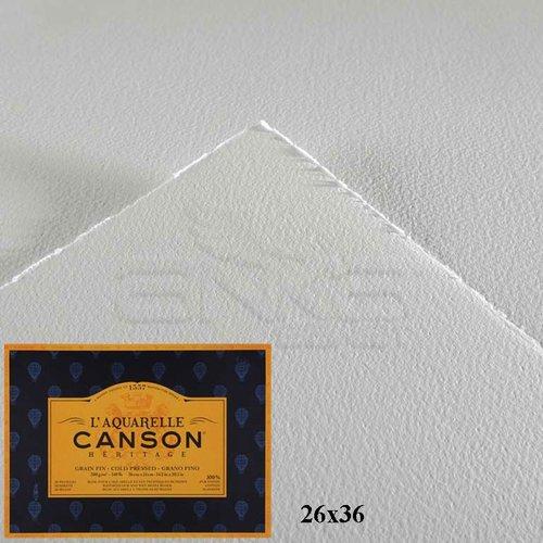 Canson LAquarelle Heritage Sulu Boya Blok 300g 12 Yaprak Cold Pressed