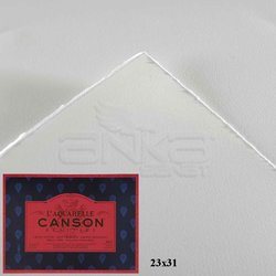 Canson - Canson LAquarelle Heritage Sulu Boya Blok 300g 12 Yaprak Hot Pressed (1)