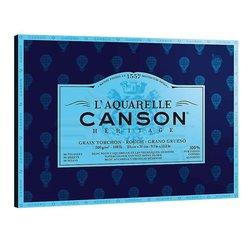 Canson - Canson LAquarelle Heritage Sulu Boya Blok 300g 12 Yaprak Rough Grain (1)