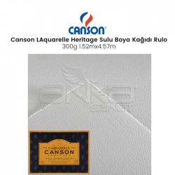 Canson - Canson LAquarelle Heritage Sulu Boya Kağıdı Rulo 300g Cold Pressed (1)