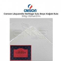 Canson - Canson LAquarelle Heritage Sulu Boya Kağıdı Rulo 300g Hot Pressed