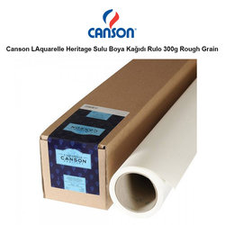 Canson - Canson LAquarelle Heritage Sulu Boya Kağıdı Rulo 300g Rough Grain