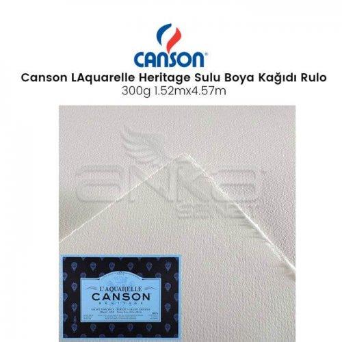 Canson LAquarelle Heritage Sulu Boya Kağıdı Rulo 300g Rough Grain