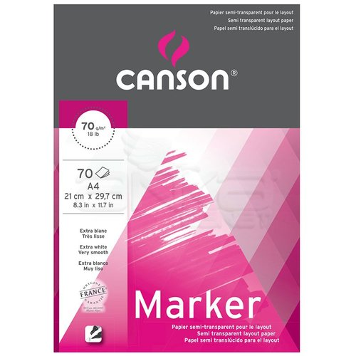 Canson Marker Layout Çizim Defteri 70g 70 Yaprak