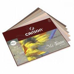 Canson - Canson Mi-Teintes Pastel Defteri Gri Tonlar 30 Yaprak 160g (1)