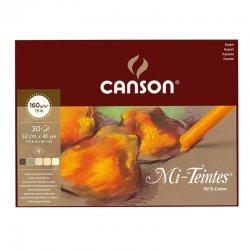 Canson - Canson Mi-Teintes Pastel Defteri Kahve Tonlar 30 Yaprak 160g (1)