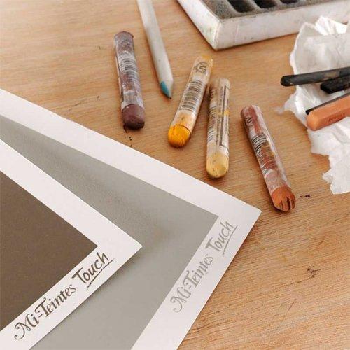 Canson Mi-Teintes Touch Pastel Kağıdı 10lu Paket 50x65 350g