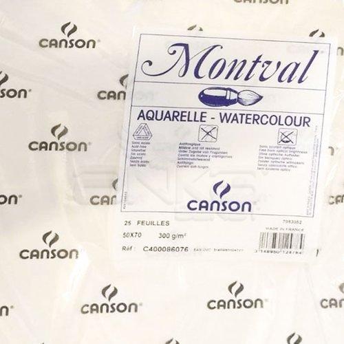 Canson Montval Sulu Boya Kağıdı Cold Pressed 300g 50x65cm 25li