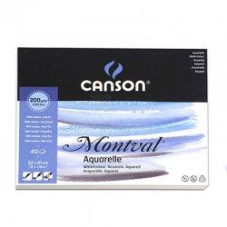 Canson - Canson Montval Watercolour Sulu Boya Blok 200g 40 Yaprak (1)