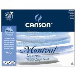 Canson - Canson Montval Watercolour Sulu Boya Blok 200g 100 Yaprak (1)