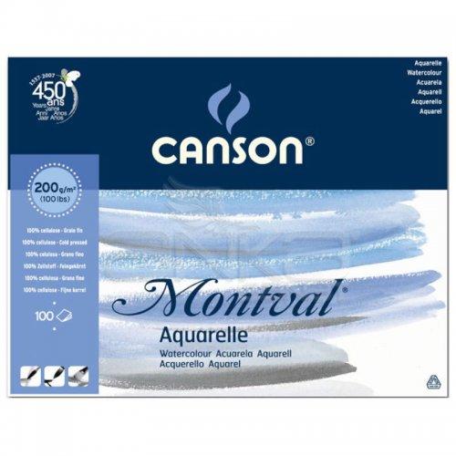 Canson Montval Watercolour Sulu Boya Blok 200g 100 Yaprak