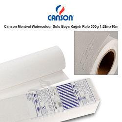Canson Montval Watercolour Sulu Boya Kağıdı Rulo 300g 1,52mx10m - Thumbnail