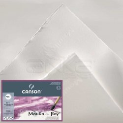Canson - Canson Moulin du Roy Çizim Blok 300g 12 Yaprak Hot Pressed (1)