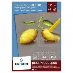 Canson - Canson Pastel Paper Pad Pastel Kağıdı Defteri 150g 12 Sayfa A4