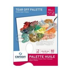 Canson - Canson Tear of Palette Kullan At Palet 24x32cm 60g 20 Yaprak (1)