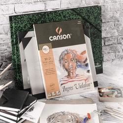 Canson - Canson Ingres Vidalon Pastel Bloğu 30 Yaprak (1)