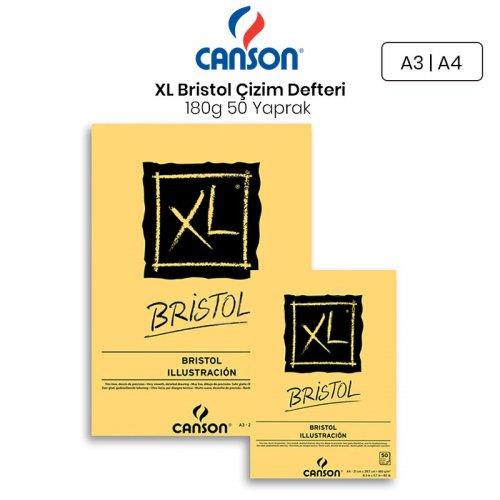 Canson XL Bristol Çizim Defteri 180g 50 Yaprak