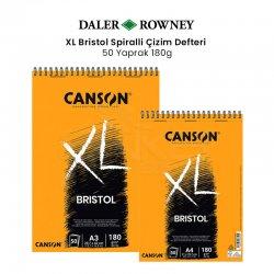 Canson - Canson XL Bristol Spiralli Çizim Defteri 180g 50 Yaprak