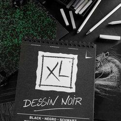 Canson XL Dessin Noir Siyah Çizim Bloğu - Thumbnail