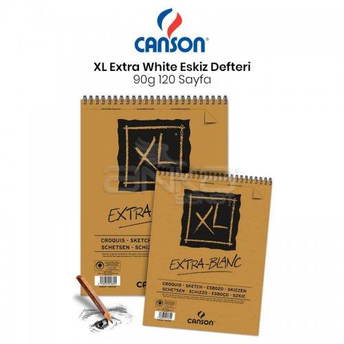 Canson XL Extra White Eskiz Defteri 90g 120 Yaprak