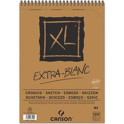 Canson - Canson XL Extra White Eskiz Defteri 90g 120 Yaprak (1)