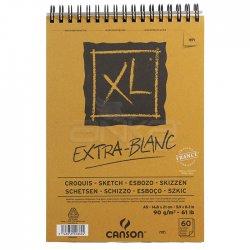Canson - Canson XL Extra White Eskiz Defteri 90g 60 Yaprak A5 (1)