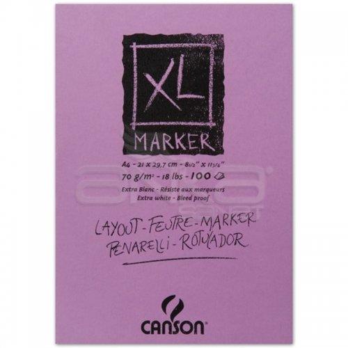Canson XL Marker Çizim Defteri 70g 100 Yaprak