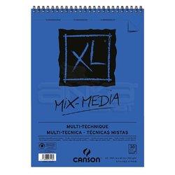 Canson XL Mix Media Çok Amaçlı Spiralli Çizim Defteri 300g - Thumbnail
