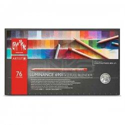 Caran dAche Luminance Permanent Color 76lı Kuru Boya Kalem Seti - Thumbnail
