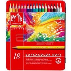 Caran dAche Supracolor Soft Aquarelle 18li Sulu Boya Kalem Seti - Thumbnail