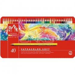 Caran dAche Supracolor Soft Aquarelle 40lı Sulu Boya Kalem Seti - Thumbnail