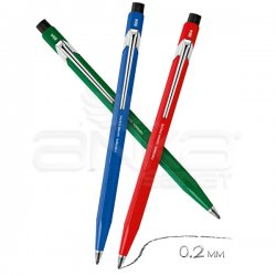 Caran dAche - Caran dAche 884 Metal Fix Pencil Versatil Kalem 2mm (1)