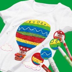 Carioca - Carioca Cromatex Fabric Liner Tişört Kalemi 10lu 42909 (1)