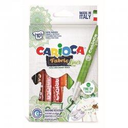 Carioca - Carioca Cromatex Fabric Liner Tişört Kalemi 10lu 42909