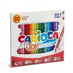 Carioca - Carioca Joy Süper Yıkanabilir Keçeli Boya Kalemi 60lı 41015