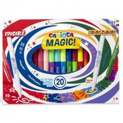 Carioca - Carioca Magic Renk Değiştiren Sihirli Keçeli Kalem 18+2 Renk 41369