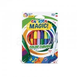 Carioca - Carioca Magic Renk Değiştiren Sihirli Keçeli Kalem 9+1 Renk 42737
