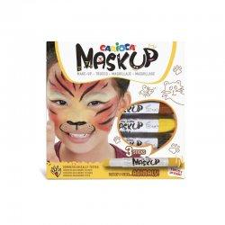 Carioca - Carioca Mask Up Yüz Boyası Seti Hayvanlar Set 6g 3lü 43048