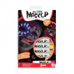Carioca - Carioca Mask Up Yüz Boyası Seti Neon Renkler 6g 6lı 43156