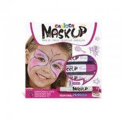 Carioca - Carioca Mask Up Yüz Boyası Seti Prenses Set 6g 3lü 43049