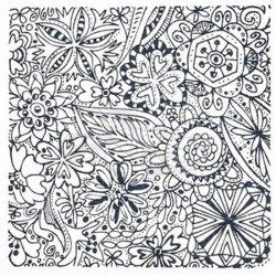 Cernit - Cernit Silikon Desen Kalıbı 9x9cm Flowers 95005 (1)