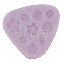 Cernit - Cernit Silikon Polimer Kil Kalıbı Çiçekler 95101 (1)