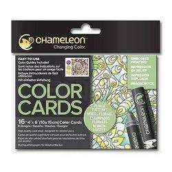 Chameleon - Chameleon Color Cards Floral 10x15 cm