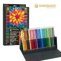 Chameleon - Chameleon Color Tones Çift Taraflı Boya Kalemi 25 Adet 50 Renk (1)