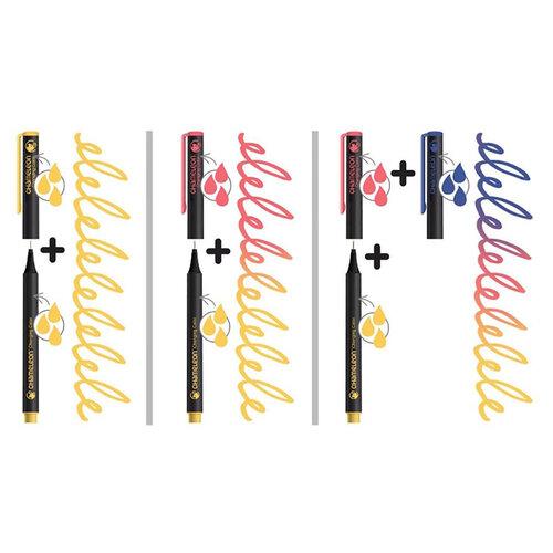 Chameleon Fineliner Çoklu Renk Sistemli Kalem 0.3mm 6lı Floral